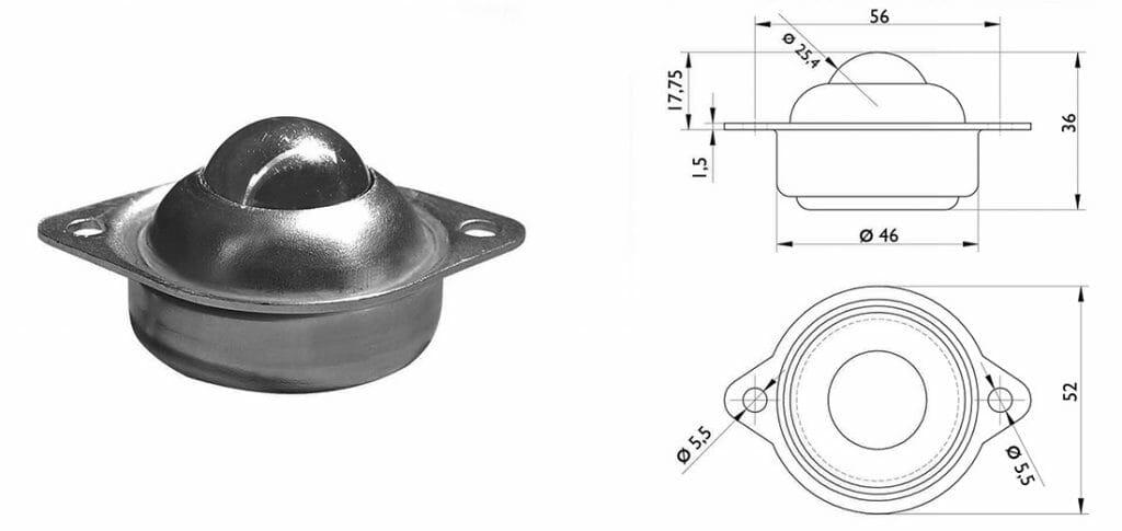 esfera transferidora 443 com medidas 1024x485 - Esfera Transferidora 443
