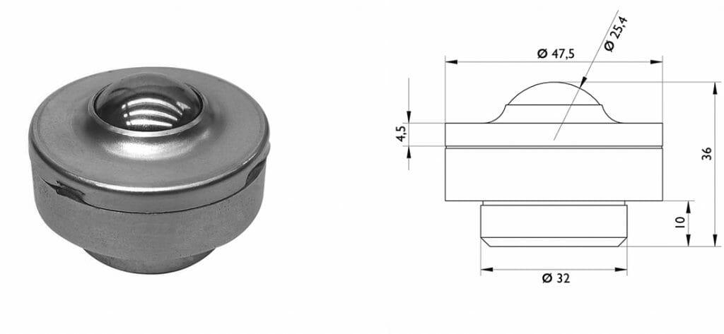 esfera transferidora 450 com medidas 1024x473 - Esfera Transferidora 450