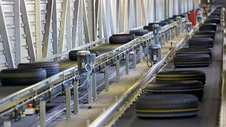 transportador de correia sobre roletes 1 - Transportador de Correia sobre Roletes