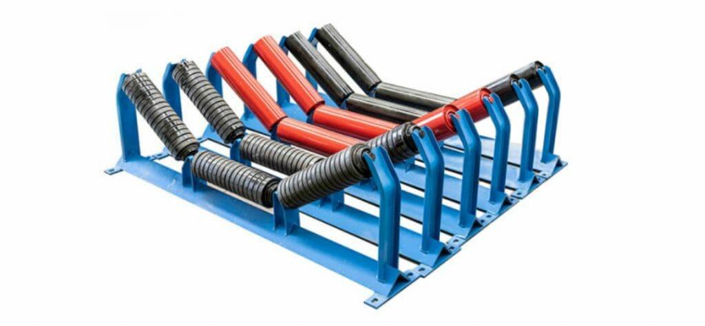 cavalete de carga para esteira transportadora 1 1024x474 - Cavalete de Carga